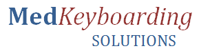 Company Logo, MedKeyboarding Solutions